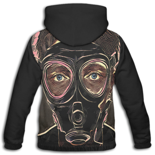 Hoodie, Inferno, Mask, Downhall